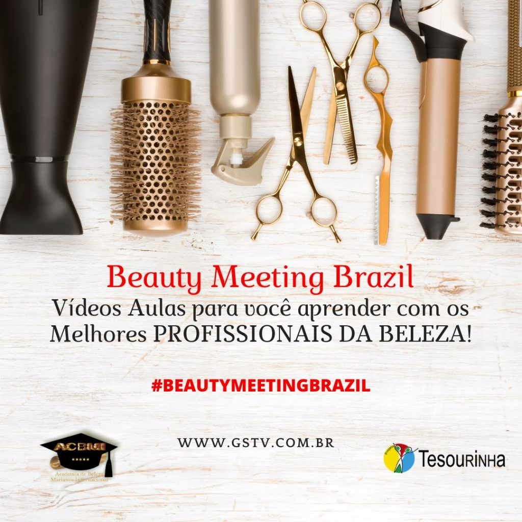 Beauty Meeting Brazil, aulas com os melhores profissionais da beleza.