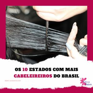 aonde tem mais cabeleireiros no brasil